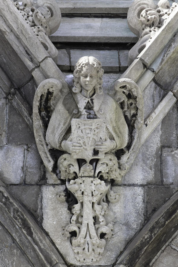 Angel detail royalty free stock photo