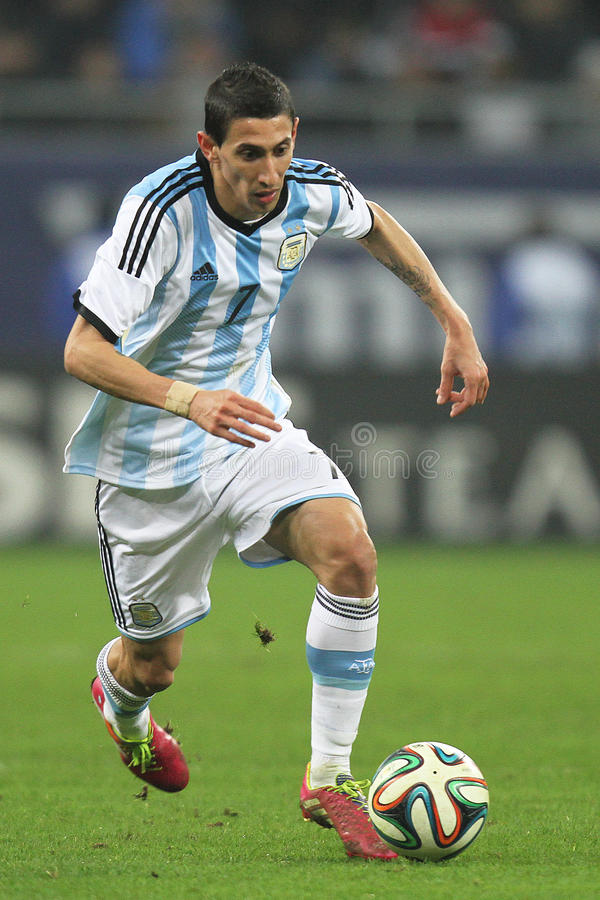 Angel di Maria editorial stock photo. Image of soccer - 38669393 on