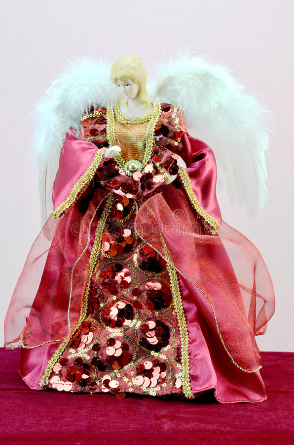 Angel doll royalty free stock image