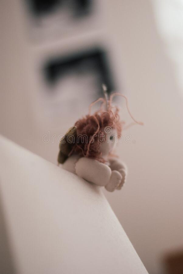 Angel doll royalty free stock photo