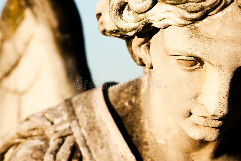 Angel expression stock photography
