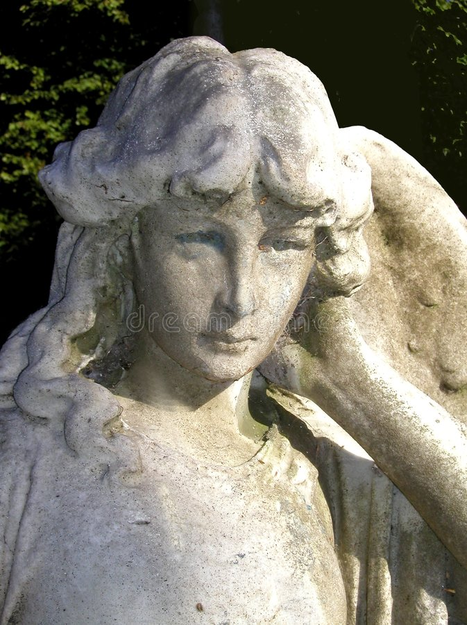 Angel face royalty free stock image