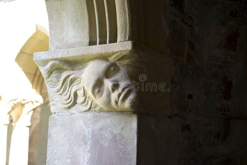 Angel face - horizontal royalty free stock photography