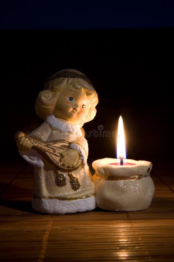 Download Angel Figurine, Christmas Decoration Stock Photo - Image: 6998556