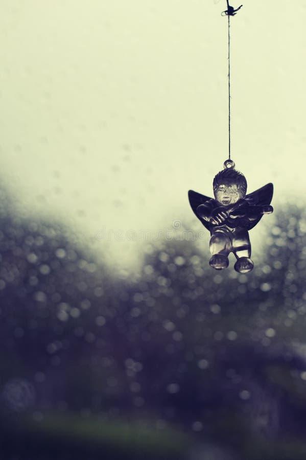 Angel figurine stock photography