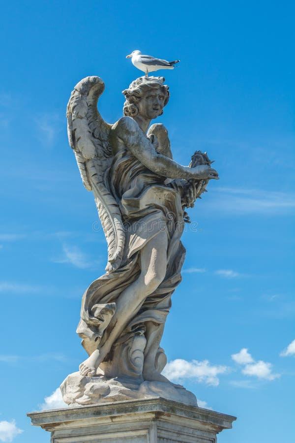 Angel Fort saint et Angel Bridge saint image libre de droits