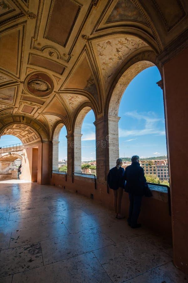 Angel Fort santo e Angel Bridge santo immagine stock libera da diritti