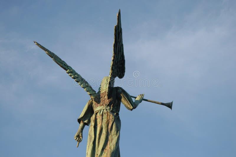 Angel Gabriel. Statue royalty free stock image