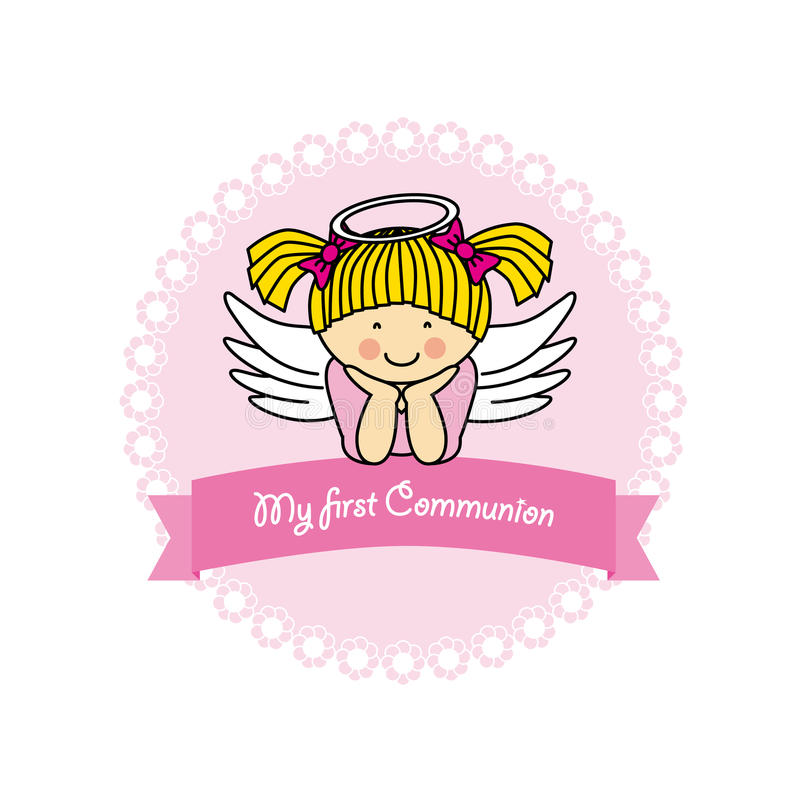 Angel Girl illustration stock