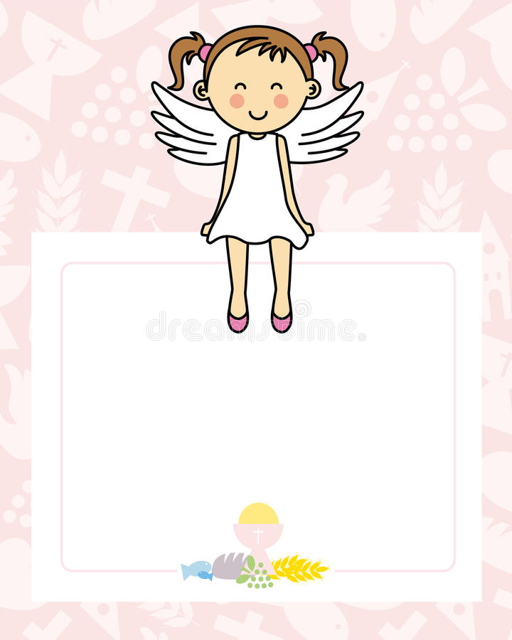 Angel Girl stock de ilustración