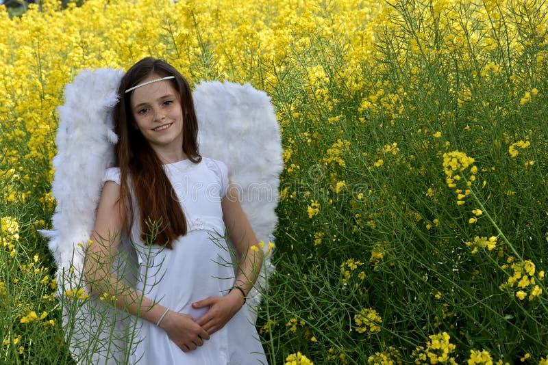 Angel Girl fotografia de stock
