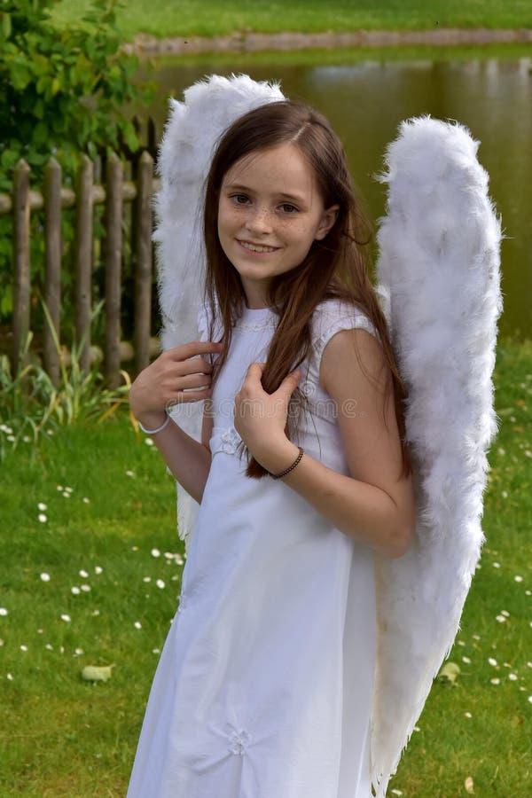 Angel Girl fotografía de archivo