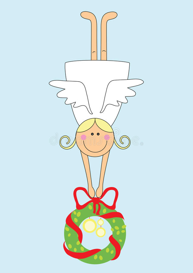 Download Angel Girl With Garland Stock Photos - Image: 11508893