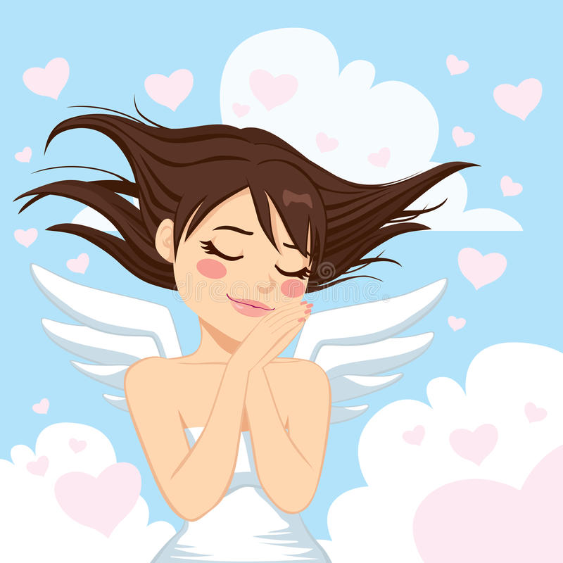 Angel Girl precioso libre illustration