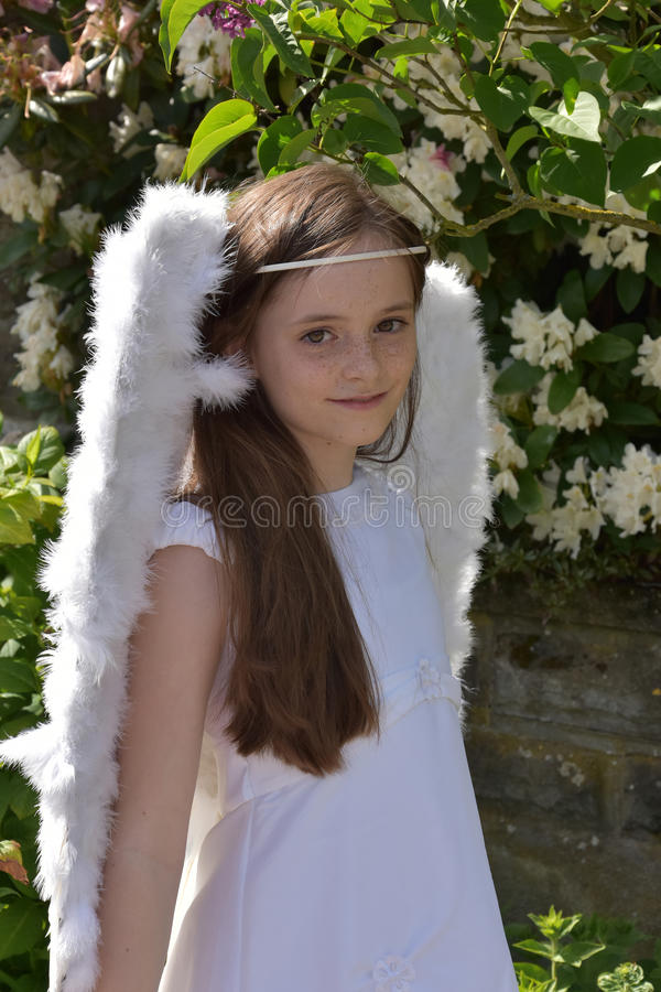 Angel girl stock photos