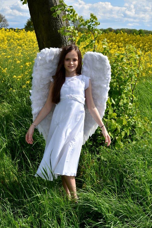 Angel girl royalty free stock photos