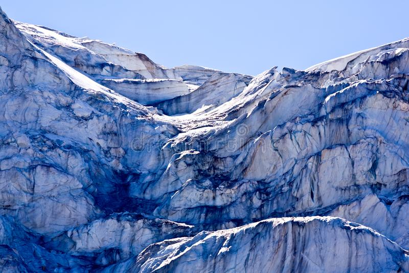 Angel Glacier em Jasper National Park, Alberta, Canadá foto de stock royalty free