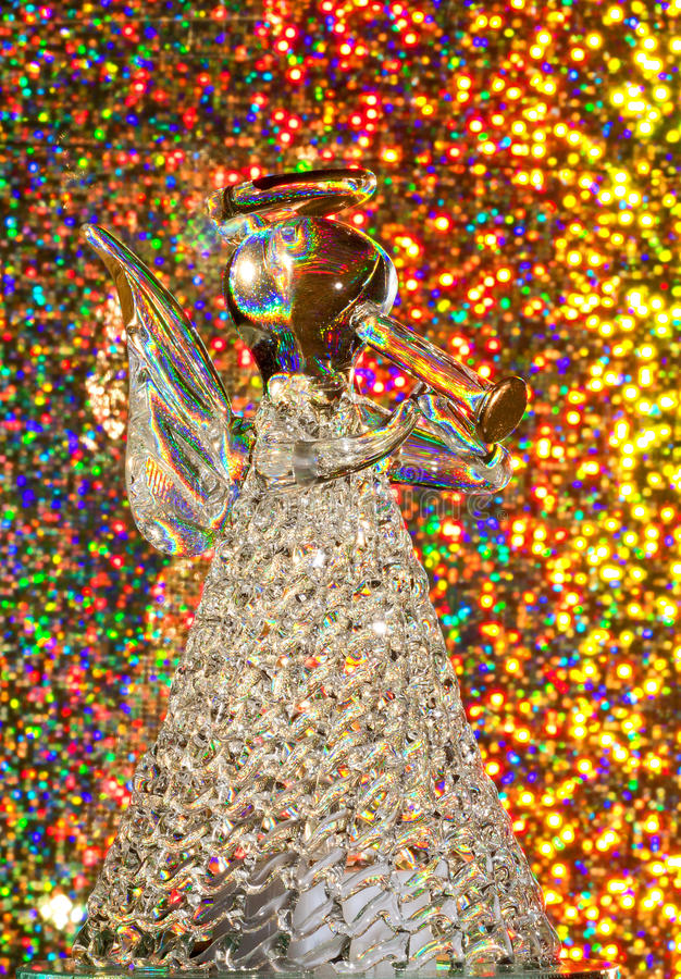 Download Angel of Glass stock photo. Image of glass, glitter, blowing - 27399910
