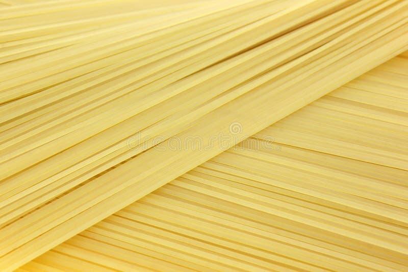 Angel Hair Pasta Diagonal View photographie stock libre de droits