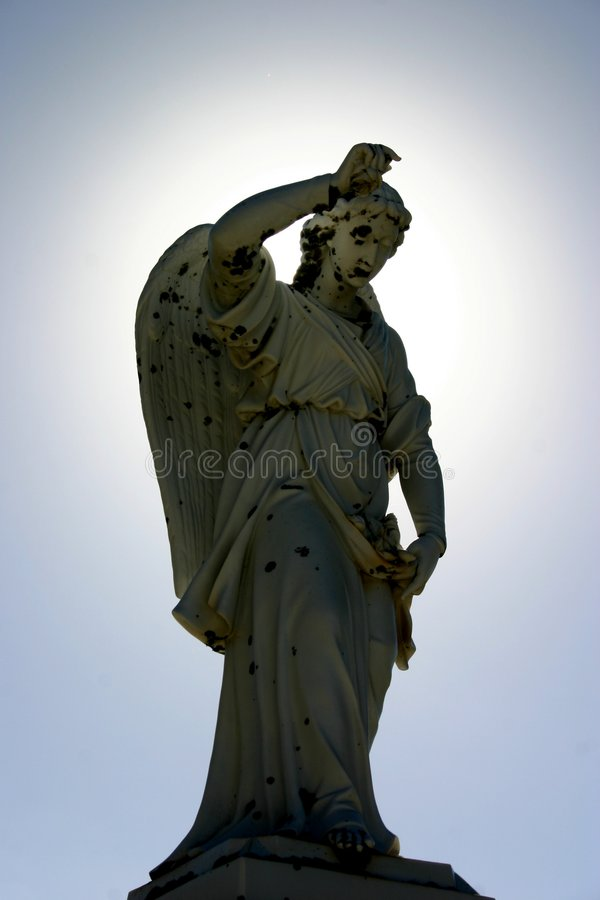 Angel Halo stock photography