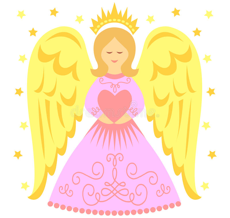 Angel Heart illustrazione vettoriale