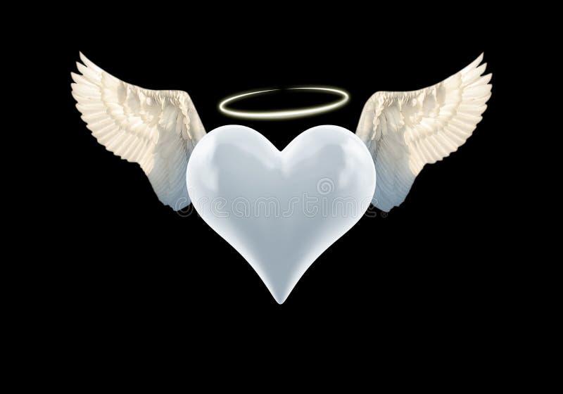 Angel Heart ilustração stock