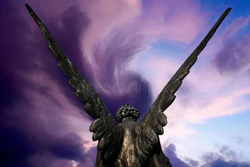 Angel heaven royalty free stock photography