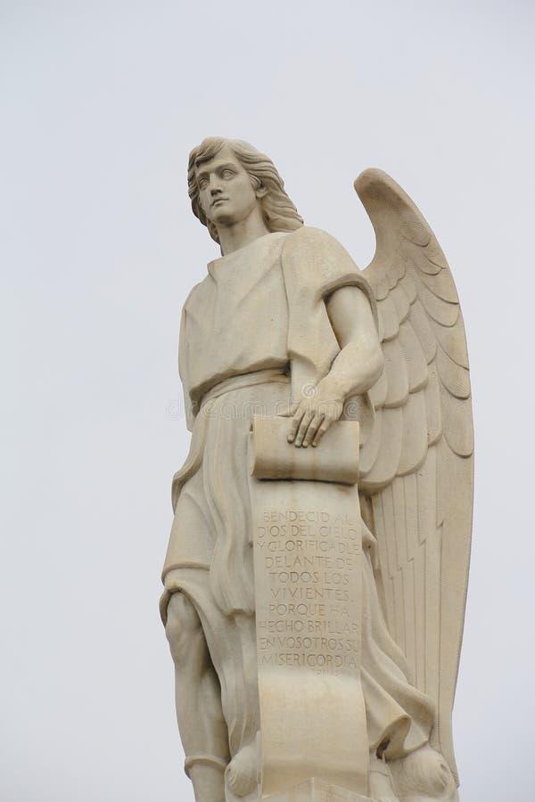 Angel III stock photo