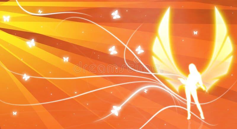 Download Angel illustration 3 stock illustration. Illustration of celebrity - 7495090