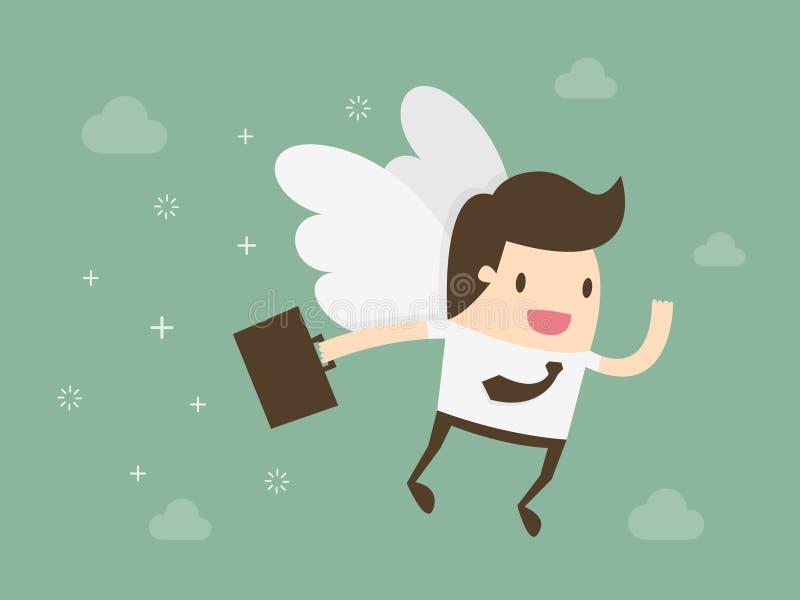 Angel Investor stock de ilustración