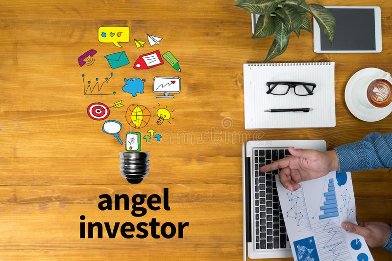 Angel Investor fotografía de archivo