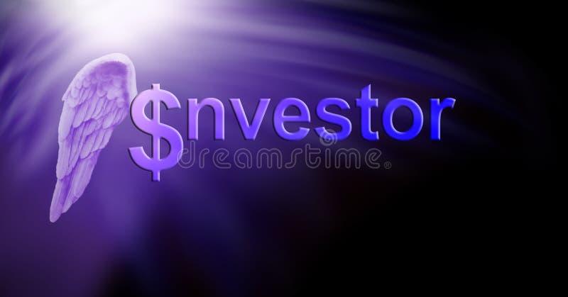 Angel Investor Dollars ilustração stock