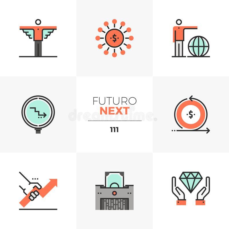 Angel Investor Futuro Next Icons libre illustration