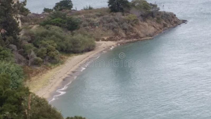 Angel Island, Californië stock afbeelding