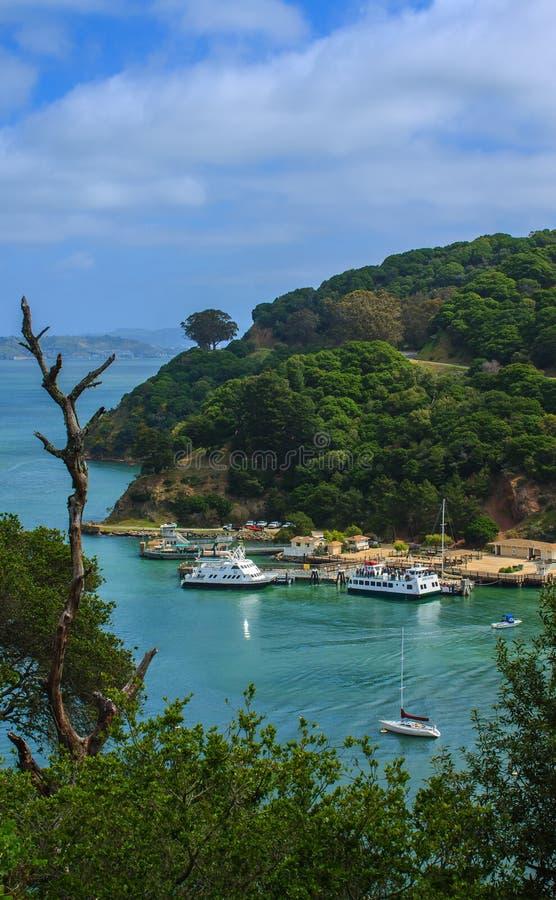 Free Angel Island Docks In San Francisco Bay Stock Photography - 43926172