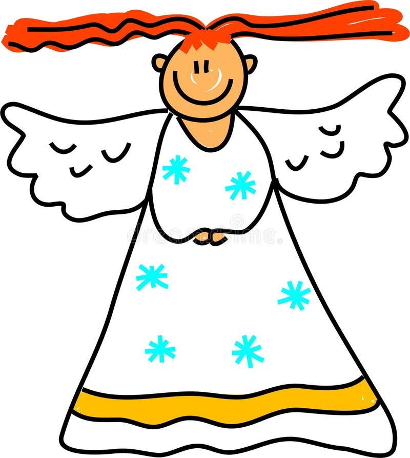 Angel kid stock illustration