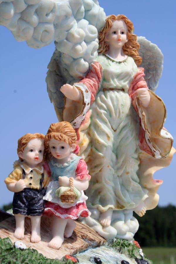 Angel+Kids imagem de stock royalty free