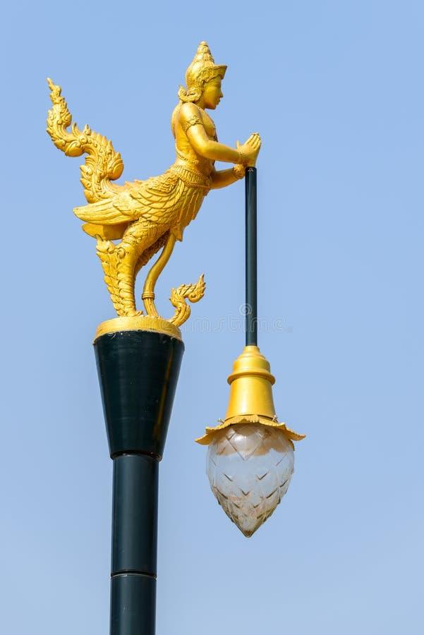 Angel Lamp tailandés foto de archivo libre de regalías