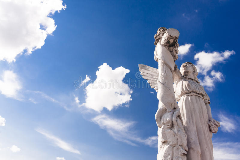 Angel in light royalty free stock images