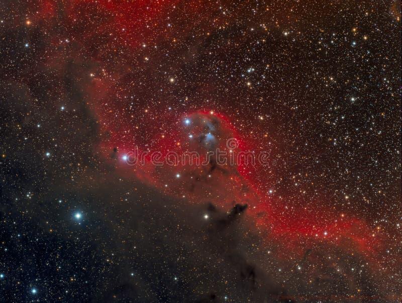 Angel Nebula royalty-vrije stock foto