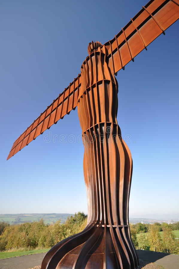 The Angel Of The North Royalty Free Stock Photos