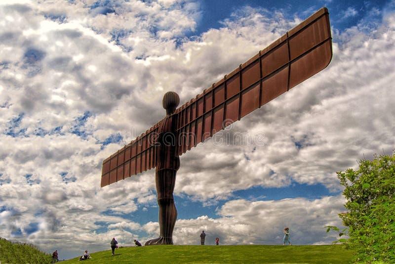 Angel Of The North, Gateshead, Inglaterra imagen de archivo libre de regalías