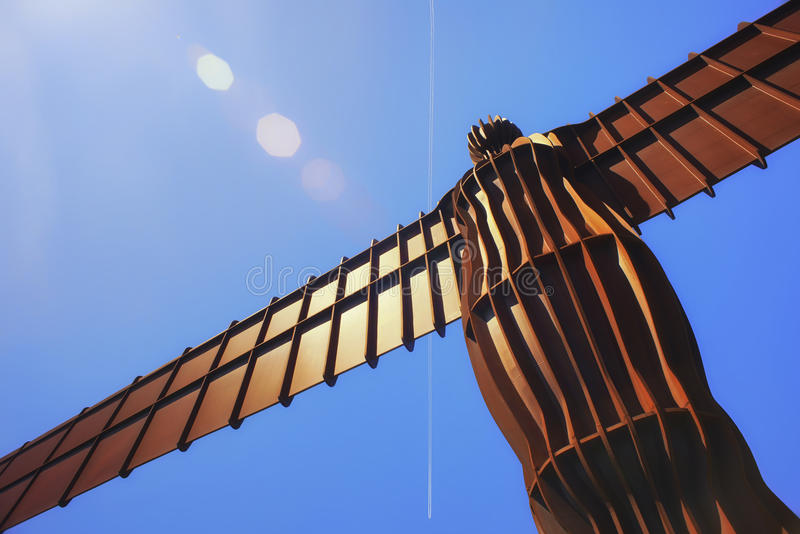 Download Angel of the North editorial stock photo. Image of vacation - 31455893