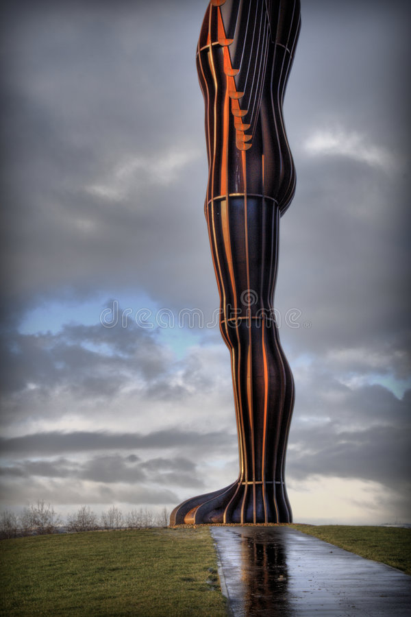 Angel of the North2 royalty free stock photos