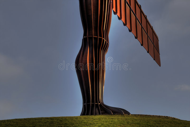 Angel of the North3 royalty free stock photography