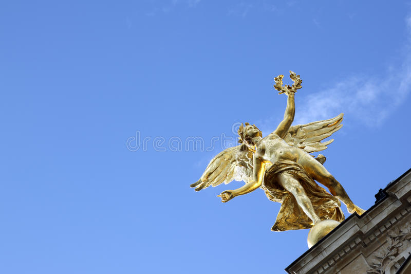 Angel In Paris Stock Photography