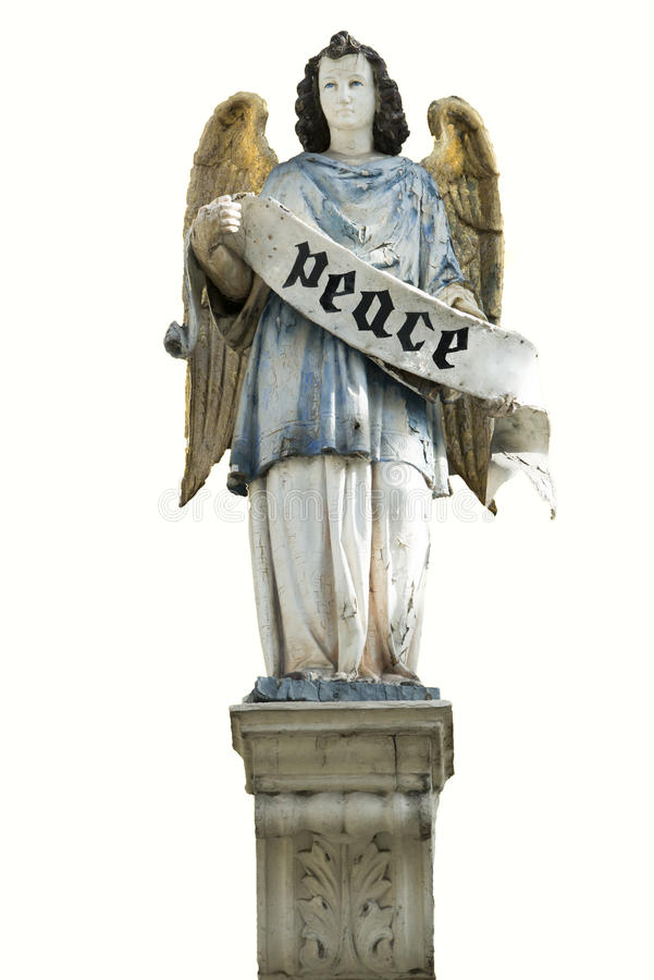 Angel Peace stock photography