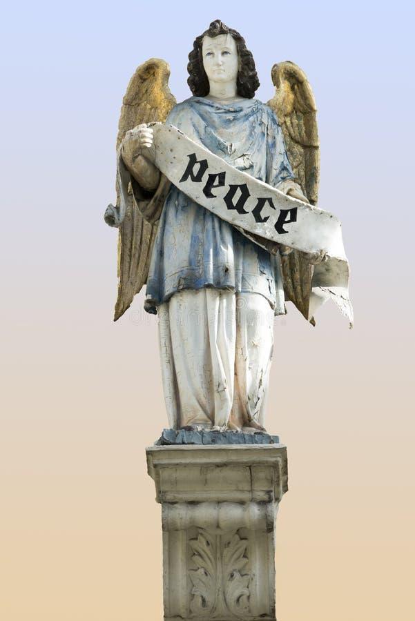 Angel Peace stock photo
