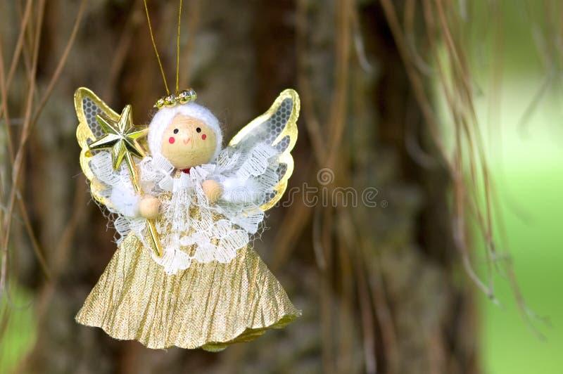 Angel play royalty free stock photo