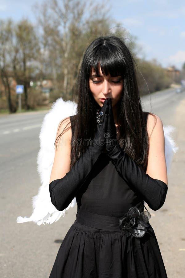 angel prayer στοκ εικόνα με δικαίωμα ελεύθερης χρήσης